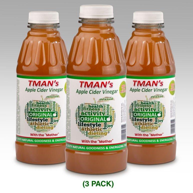 Tman's Apple Cider Vinegar